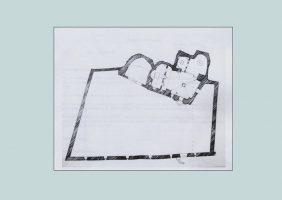 Схема Храма Святого Георгия в Бургине