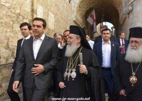Председатель греческого правительства с Его Блаженством