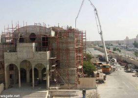 Покрытие купола кафедрального собора в Дохе