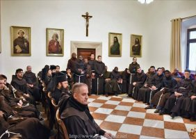 Визит Святогробской братии к Братии Францисканцев